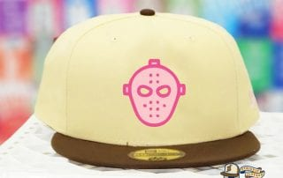 Cereal Killer 2 Beige Pink Brown 59Fifty Fitted Cap by Milk x New Era