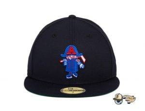 Hat Club Exclusive Milwaukee Admirals Retro 59Fifty Fitted Hat Collection by AHL x New Era black