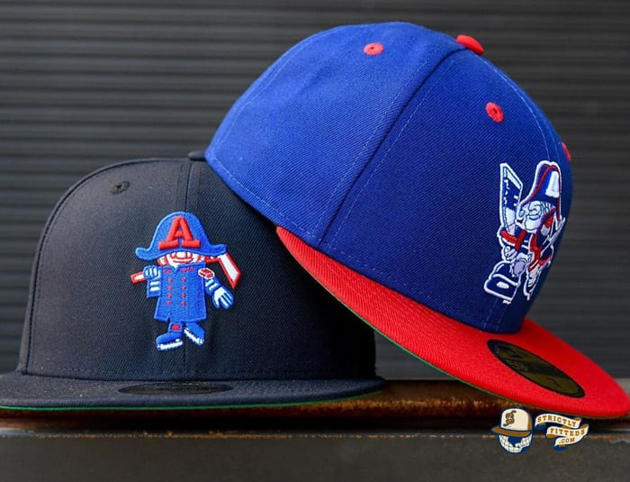 Hat Club Exclusive Milwaukee Admirals Retro 59Fifty Fitted Hat Collection by AHL x New Era