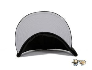 Monogram Hextech Black Infrared 59Fifty Fitted Hat by Hat Club x New Era under visor