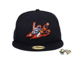 Moon Buggy Navy 59Fifty Fitted Hat by Sean McCarthy x New Era front