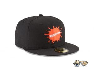 Splatter Logo 59Fifty Fitted Cap by Nickelodeon by New Era right side