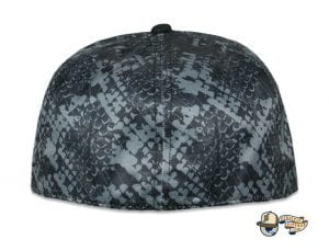 Celestial Serpent Black Fitted Cap by Grassroots Back