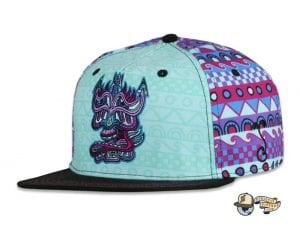 Bear Explorer Black Red 59Fifty Fitted Hat by Noble North x New EraChris Dyer Galatik Dude Fitted Hat by Chris Dyer x Grassroots