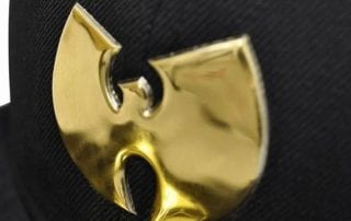 Gold Chrome Logo 59Fifty Fitted Cap by NEW ERA x WU-TANG