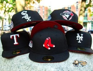Hat Club MLB Lui V Red Bottom 59Fifty Fitted Hat Collection by MLB x New Era