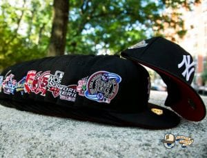 Hat Club MLB Lui V Red Bottom 59Fifty Fitted Hat Collection by MLB x New Era Side