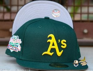 Hat Club MLB Side Patch Customs August 26 59Fifty Fitted Hat Collection by MLB x New Era Athletics