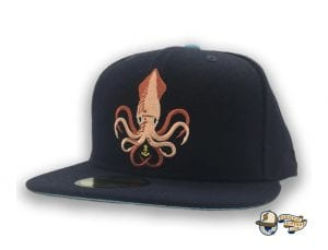 Kraken 59Fifty Fitted Cap by Team Collective x New Era Angle