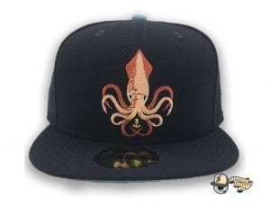 Kraken 59Fifty Fitted Cap by Team Collective x New Era Front