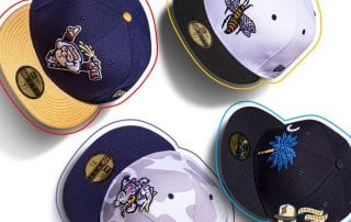 MiLB Theme Nights 59Fifty Fitted Cap Collection by MiLB x New Era
