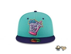 MiLB Theme Nights 59Fifty Fitted Cap Collection by MiLB x New Era Bats