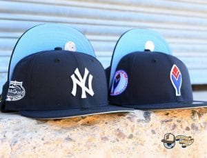 MLB All Star Game Patch 59Fifty Fitted Hat Collection by MLB x New Era IcyBlue