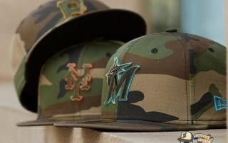 MLB Forest Pop 59Fifty Fitted Cap Collection by MLB x New Era