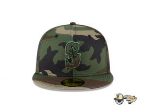 MLB Forest Pop 59Fifty Fitted Cap Collection by MLB x New Era Mariners