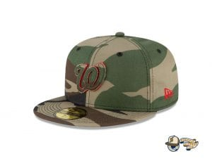 MLB Forest Pop 59Fifty Fitted Cap Collection by MLB x New Era Nationals
