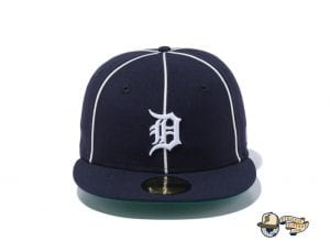 MLB Piping Kelly Undervisor 59Fifty Fitted Cap Collection by MLB x New Era Tigers