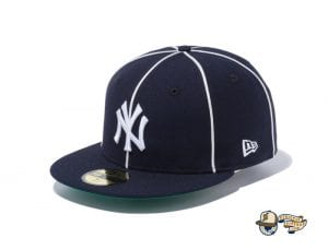 MLB Piping Kelly Undervisor 59Fifty Fitted Cap Collection by MLB x New Era Yankees