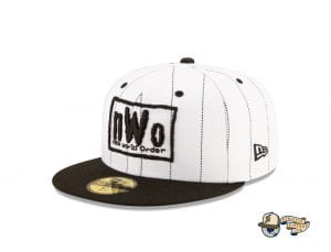 New World Order Hall of Fame 59Fifty Fitted Cap Collection by WWE x New Era Pinstripe