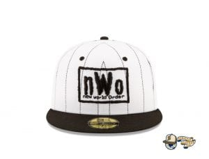 New World Order Hall of Fame 59Fifty Fitted Cap Collection by WWE x New Era Pinstripefront