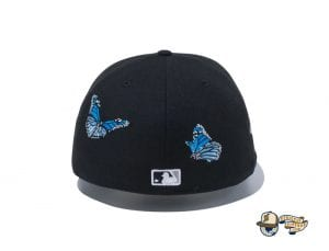 New York Yankees Butterflies 59Fifty Fitted Cap by MLB x New Era Back