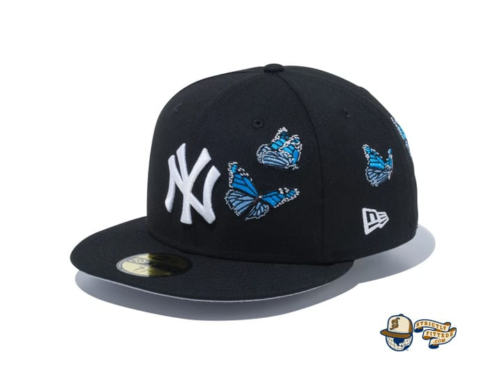 New York Yankees Butterflies 59Fifty Fitted Cap by MLB x New Era
