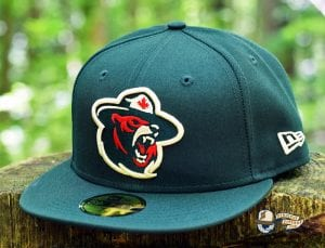 Northern Force 59Fifty Fitted Cap by Noble North x New Era Green