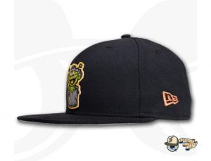 Orbit The Grouch 59Fifty Fitted Cap by Over Your Head x New Era Side