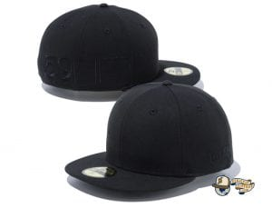 Side Big Logo 100th Anniversary 59Fifty Fitted Cap by New Era