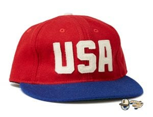 USA National Team 1956 Fitted Ballcap by Ebbets Front