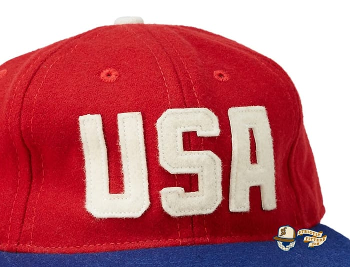 USA National Team 1956 Fitted Ballcap by Ebbets