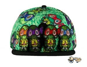 Vincent Gordon Removable Turtles Green Fitted Hat by Grassroots Front