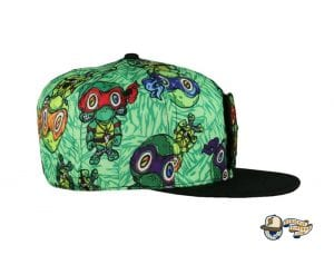 Vincent Gordon Removable Turtles Green Fitted Hat by Grassroots Side