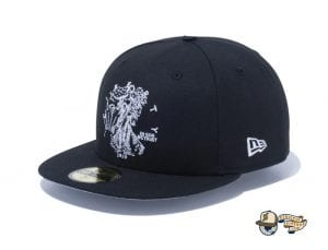 Walking Liberty Half Dollar 59Fifty Fitted Cap by New Era Black