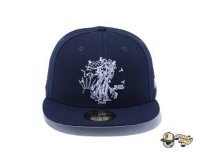 Walking Liberty Half Dollar 59Fifty Fitted Cap by New Era Navy