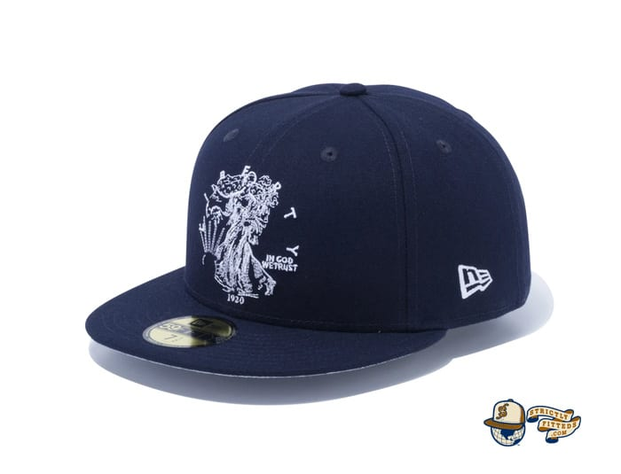 Walking Liberty Half Dollar 59Fifty Fitted Cap by New Era