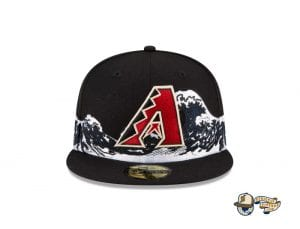 Wave 59Fifty Fitted Cap Collection by MLB x New Era Front