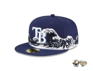 Wave 59Fifty Fitted Cap Collection by MLB x New Era Tampa
