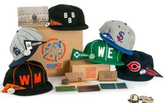 100th Anniversary Negro Leagues Vintage Boxset Series II Fitted Ballcap Collection by Ebbets