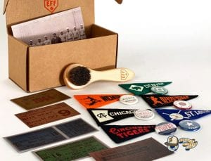 100th Anniversary Negro Leagues Vintage Boxset Series II Fitted Ballcap Collection by Ebbets Accessories