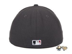 Arizona Diamondbacks A OTC Graphite 59Fifty Fitted Hat by MLB x New Era Back