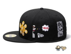 Baanai 59Fifty Fitted Cap Collection by Baanai x New Era Left