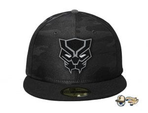 Black Panther 59Fifty Fitted Cap by Team Collective x New Era Front