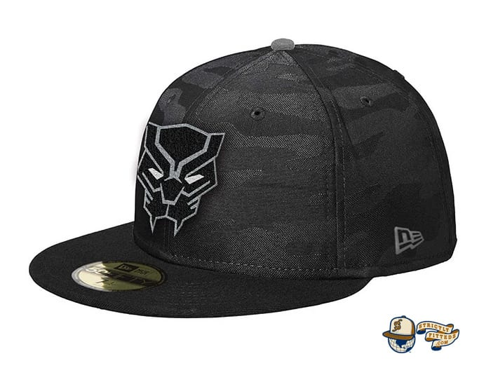 Black Panther 59Fifty Fitted Cap by Team Collective x New Era