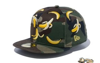 Camo Banana 59Fifty Fitted Cap by New Era