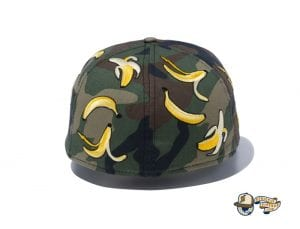 Camo Banana 59Fifty Fitted Cap by New Era Back