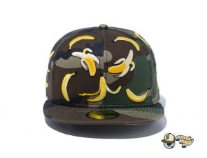 Camo Banana 59Fifty Fitted Cap by New Era Front