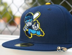 Chamuco Base Stealers Navy 59Fifty Fitted Hat by Chamucos Studio x New Era