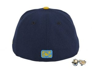 Chamuco Base Stealers Navy 59Fifty Fitted Hat by Chamucos Studio x New Era Back