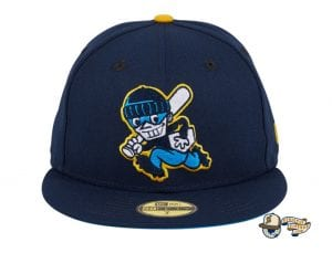 Chamuco Base Stealers Navy 59Fifty Fitted Hat by Chamucos Studio x New Era Front